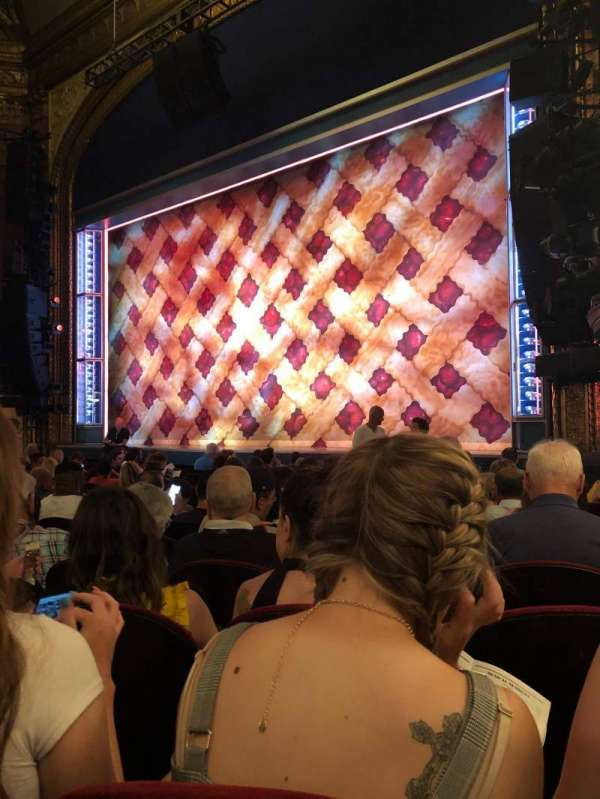 Brooks Atkinson Theatre, section: Orchestra R, row: K, seat: 20