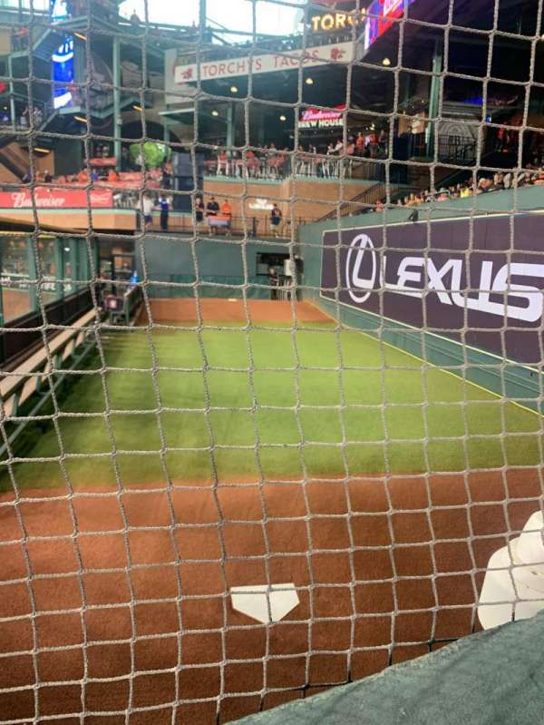 Minute Maid Park, section: 155, row: 1, seat: 1-2