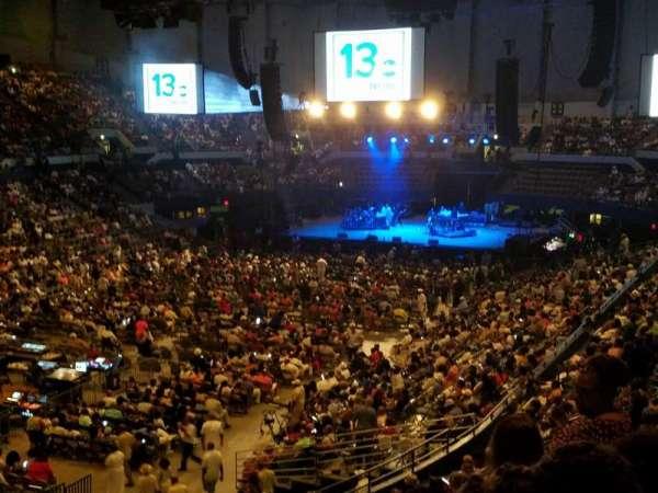 Hampton Coliseum , section: X, row: 15, seat: 15