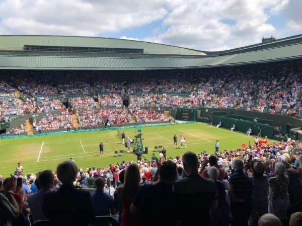Wimbledon, Court No. 1, section: 35, row: O, seat: 364