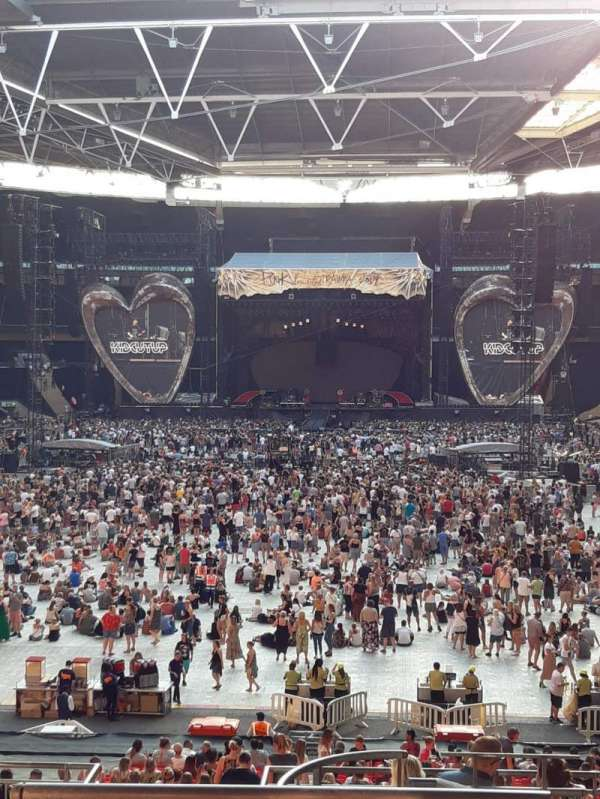 Wembley Stadium, section: 111, row: 40, seat: 254