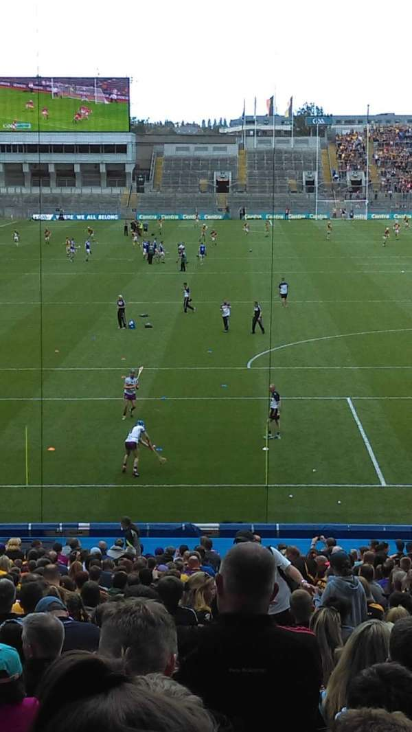 Croke Park, section: 319, row: PP, seat: 20
