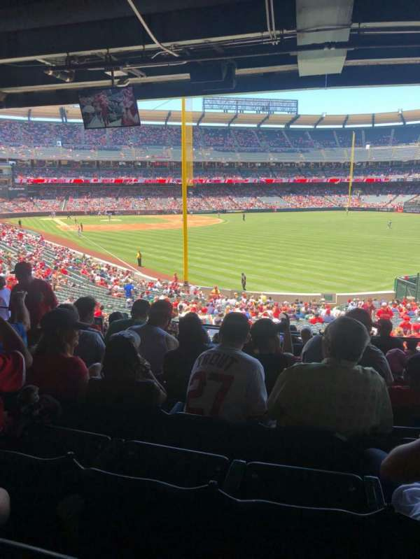 Angel Stadium, section: T232, row: J, seat: 7