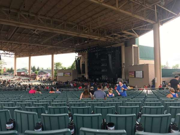 Ruoff Music Center, section: H, row: Y, seat: 22