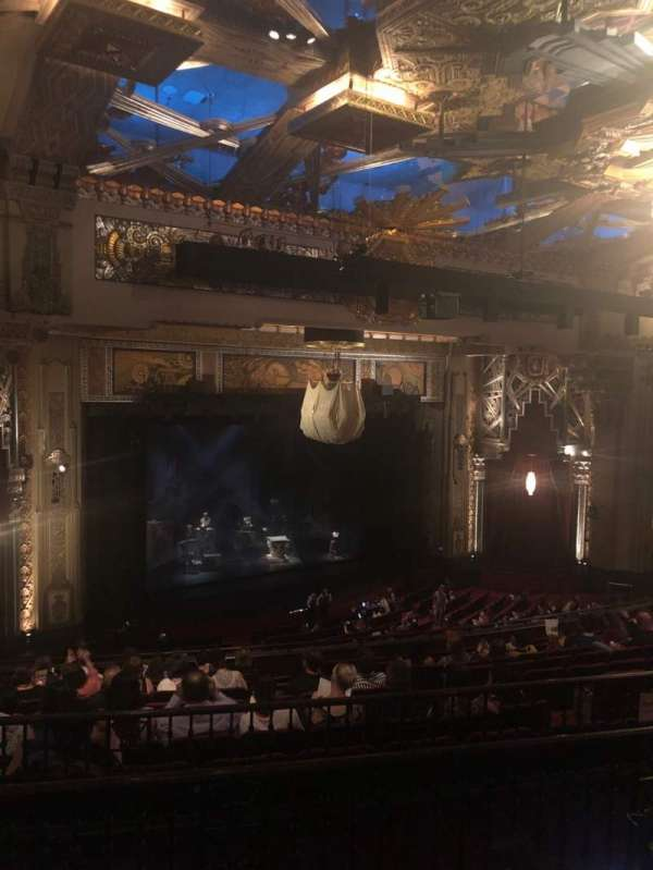 Hollywood Pantages Theatre, section: Mezzanine L, row: L, seat: 19