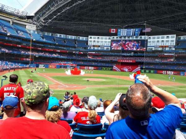 Rogers Centre, section: 120R, row: 20, seat: 3