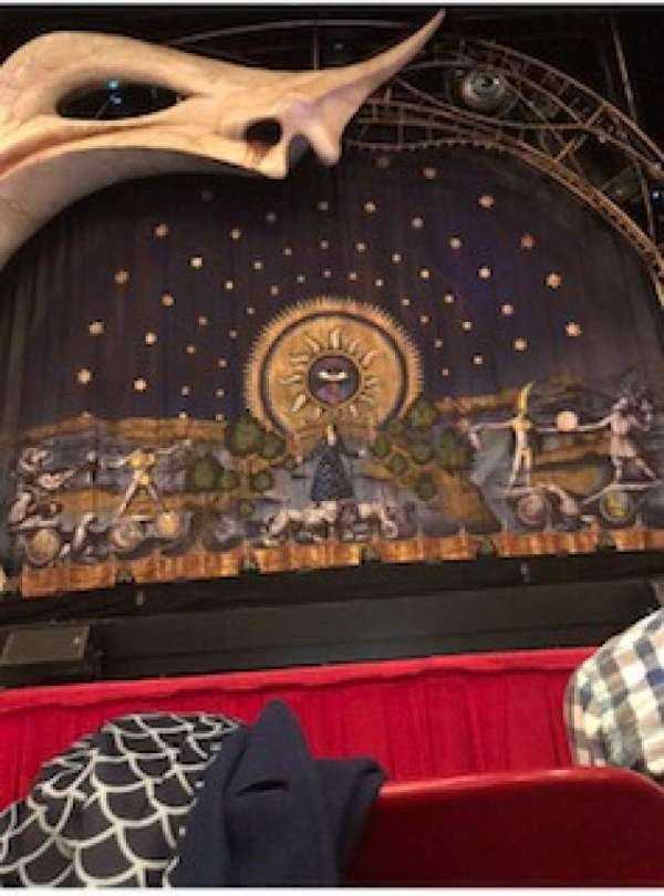 Cadillac Palace Theater, section: Orchestra C, row: B, seat: 110