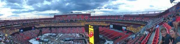 FedEx Field, section: 426, row: 7, seat: 20
