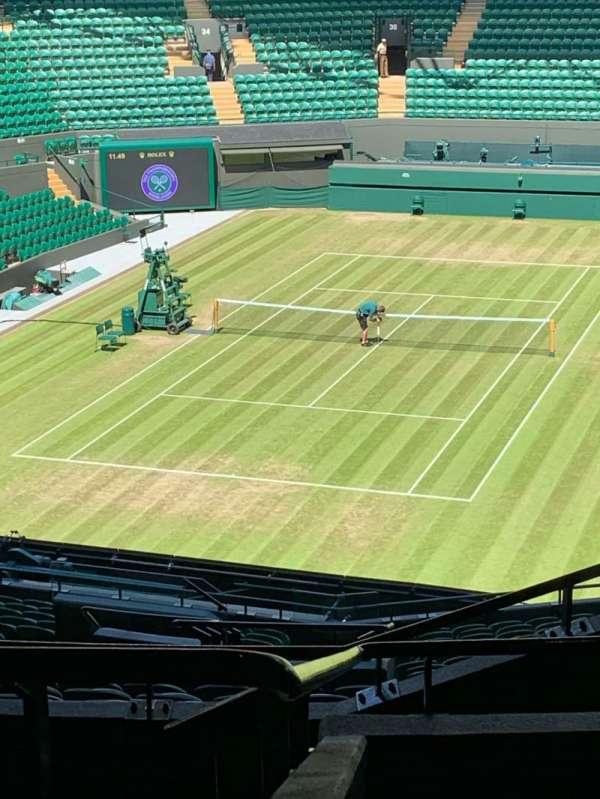 Wimbledon, Court No. 1, section: 3, row: 21, seat: 251