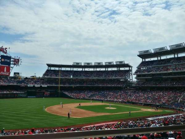 Nationals Park, section: 112, row: WW, seat: 1, 2