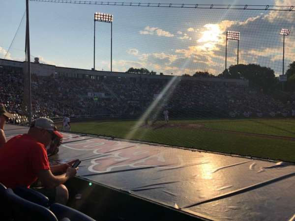 Hadlock Field, section: 101, row: G, seat: 10