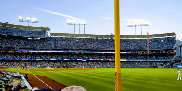 Dodger Stadium, section: 48FD, row: G, seat: 15