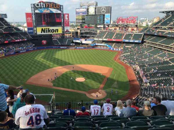 Citi Field, section: 517, row: 8, seat: 9
