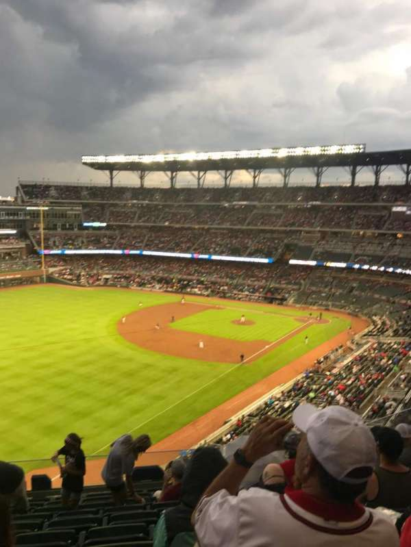 Truist Park, section: 342, row: 10, seat: 11