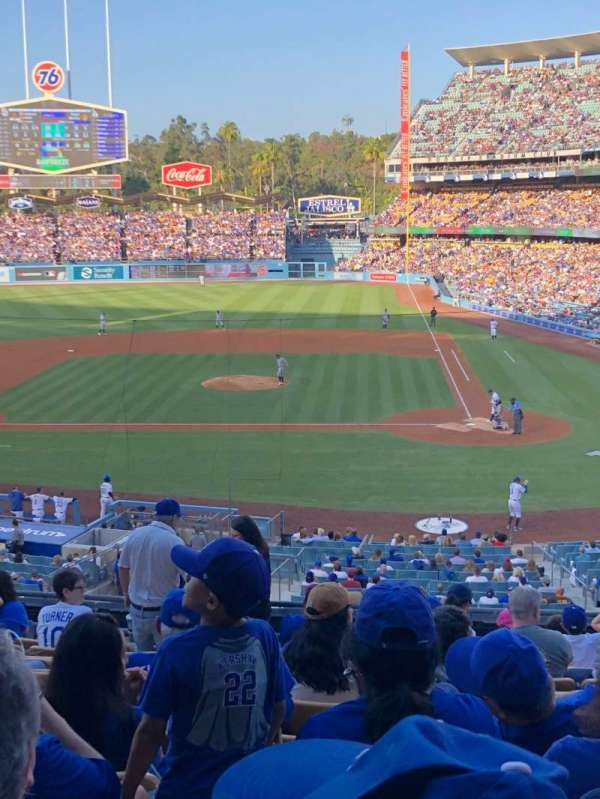 Dodger Stadium, section: 121LG, row: L, seat: 3