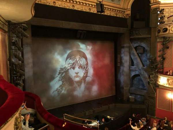 Queen's Theatre, section: Dress Circle, row: D, seat: 28