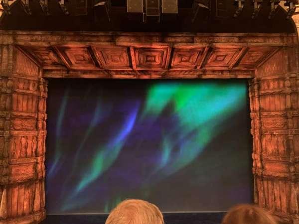 St. James Theatre, section: Mezzanine C, row: B, seat: 108