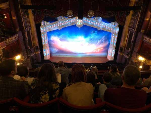 Palace Theatre (Manchester), section: Grand tier, row: E
