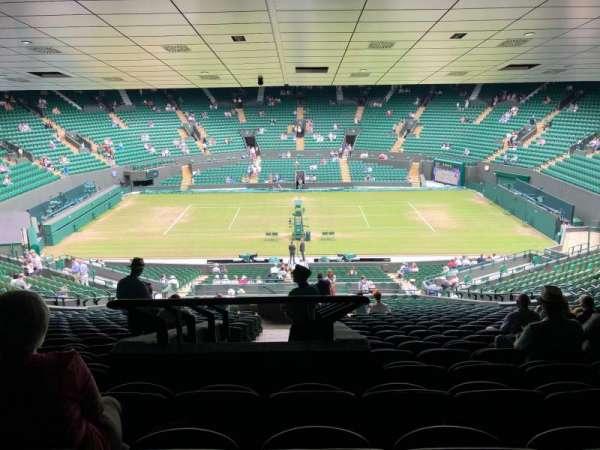 Wimbledon, Court No. 1, section: 35, row: Z, seat: 422