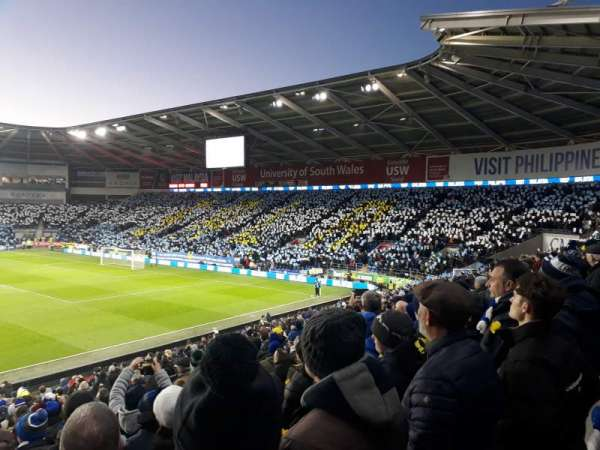Cardiff City Stadium, section: Ninian stand, row: X, seat: 849