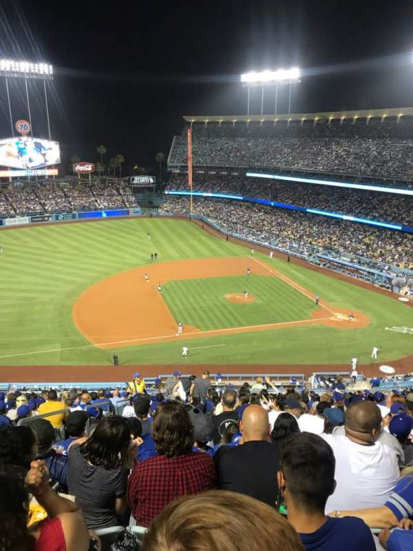 Dodger Stadium, section: 19RS, row: V, seat: 19