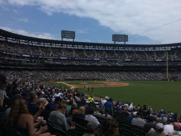 Guaranteed Rate Field, section: 110, row: 30, seat: 11