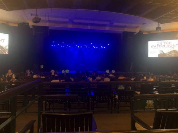 The Pavilion at the Ravinia Festival, section: Center, row: AA, seat: 7