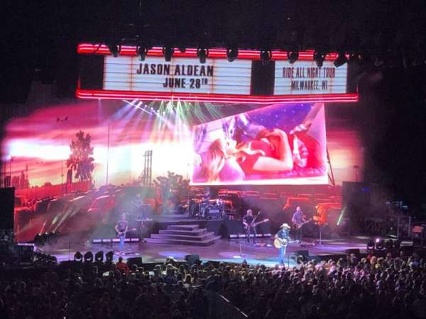 American Family Insurance Amphitheater, section: 18, row: L, seat: 16