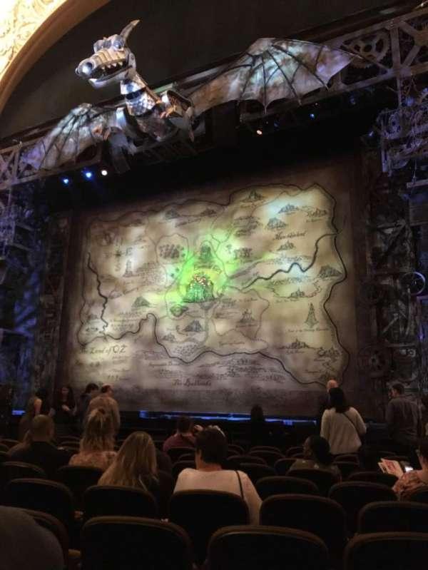 Paramount Theatre (Seattle), section: MF2, row: K, seat: 14