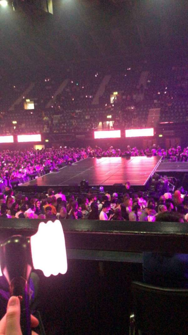 SSE Arena, Wembley, section: N8, row: C, seat: 69