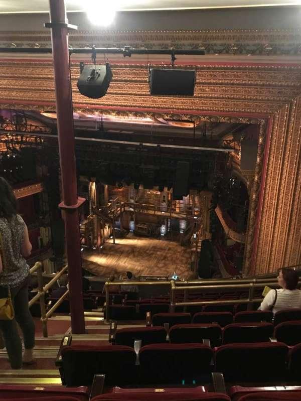 CIBC Theatre, section: Balcony R, row: N, seat: 2