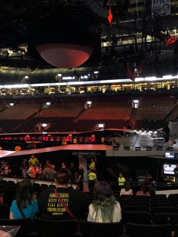 Scotiabank Arena, section: 116A, row: 13