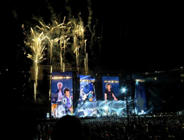 Gillette Stadium, section: 106, row: 3, seat: 12