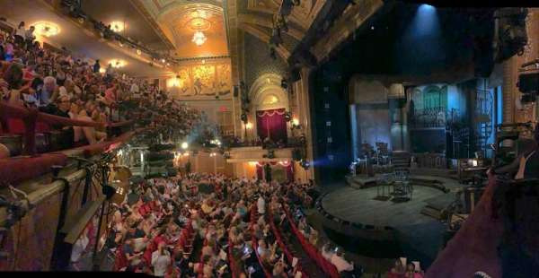 Walter Kerr Theatre, section: Box A, row: 1, seat: 8