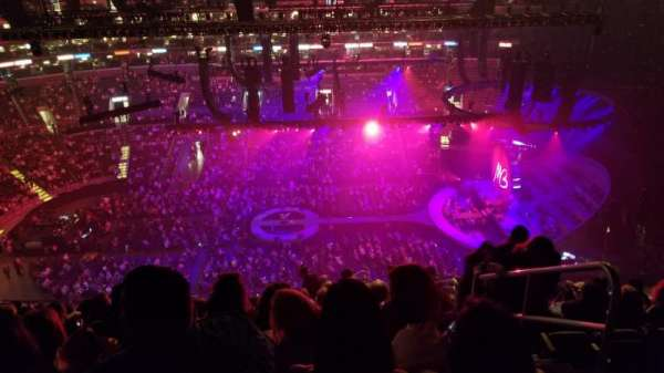 Staples Center, section: 301, row: 14, seat: 2