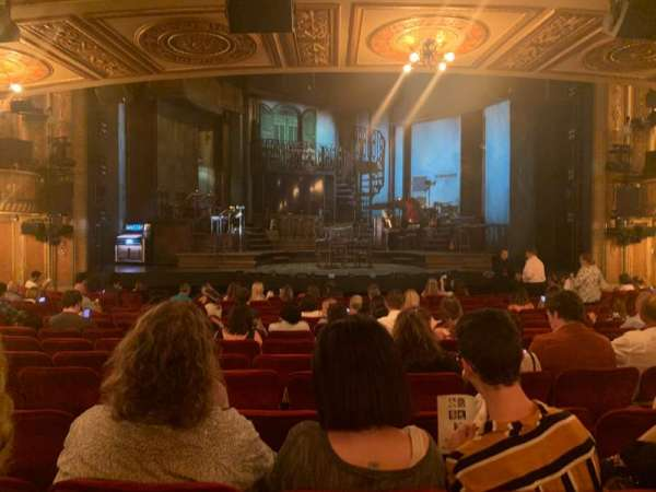 Walter Kerr Theatre, section: Orchestra C, row: R, seat: 109