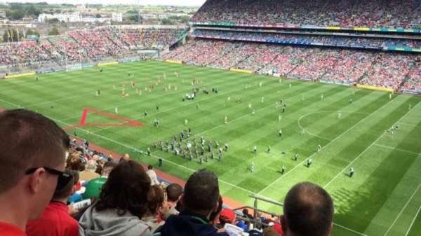 Croke Park, section: 726, row: Q , seat: 18