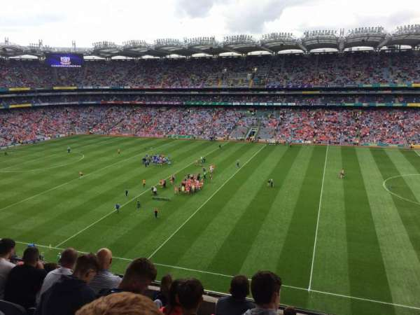 Croke Park, section: 704, row: G, seat: 10