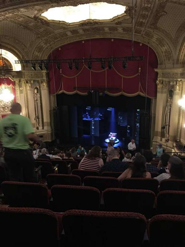 Citizens Bank Opera House, section: Mezzanine R, row: O, seat: 6