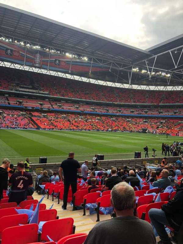 Wembley Stadium, section: 103, row: 16