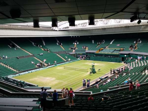 Wimbledon, Centre Court, section: 308, row: T, seat: 201