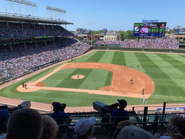 Wrigley Field, section: 324R, row: 6, seat: 21