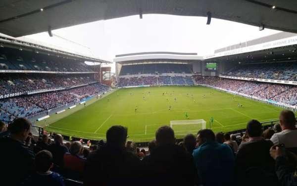 Ibrox Stadium, section: CR4, row: J, seat: 99