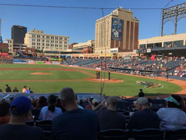 Canal Park, section: 17, row: K, seat: 4