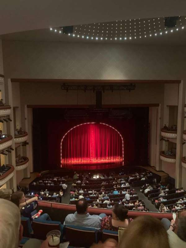 Belk theater , section: Mezzanine Left, row: D, seat: 217