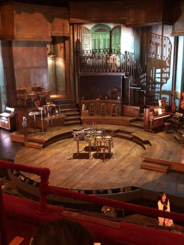 Walter Kerr Theatre, section: Mezzanine R, row: C, seat: 6