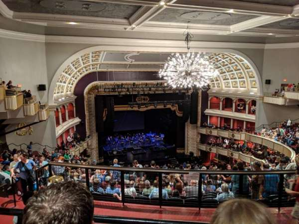 The Met Philadelphia, section: Mezzanine 4, row: B, seat: 14