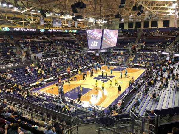 Alaska Airlines Arena at Hec Edmundson Pavilion, section: 3, row: 22, seat: 30