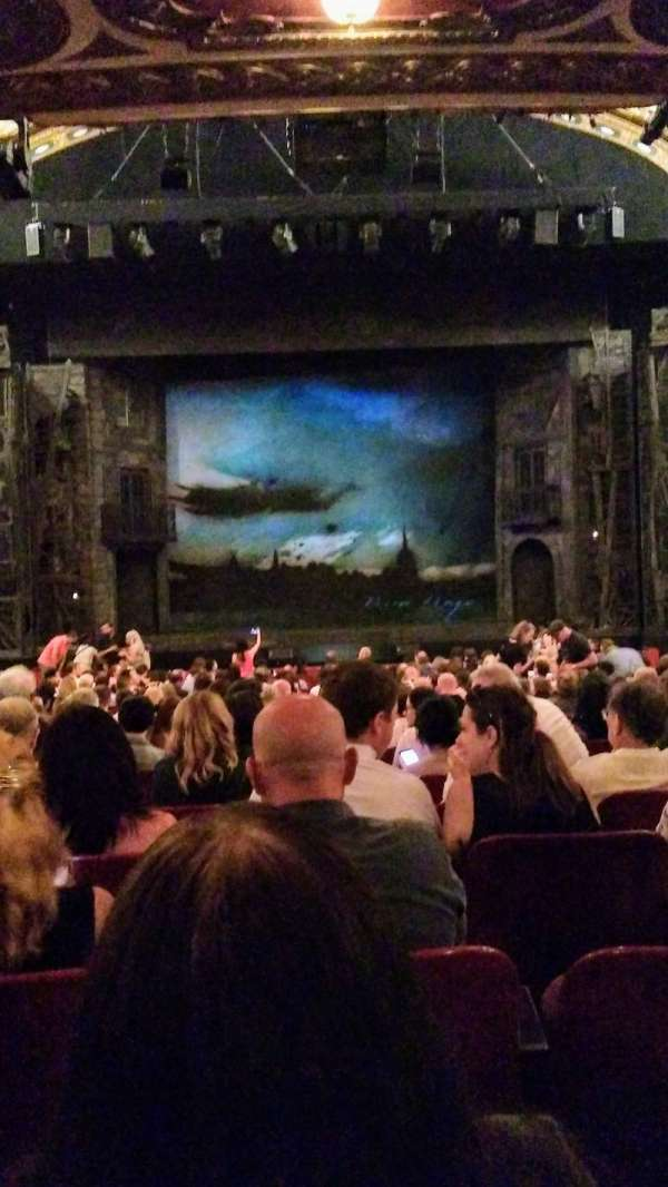 Cadillac Palace Theater, section: Orchestra C, row: U, seat: 110