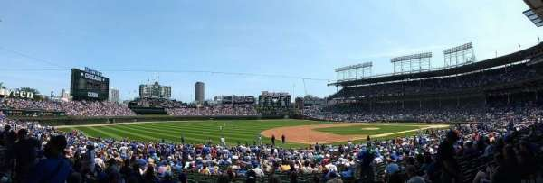 Wrigley Field, section: 208, row: 1, seat: 19